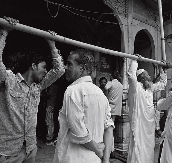 At the ancient Johari Bazaar, jaipur